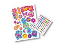 Fashion Tagz Styling Stickers - Hippie Chic